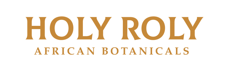Holy Roly - African Botanicals - Logo. Natural tobacco alternative.